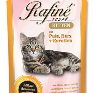 Animonda cat kapsa Rafiné Kitten  100g - krůta/srdce