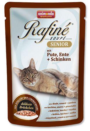 Animonda cat kapsa Rafiné Senior 100g - Kuřecí/telecí