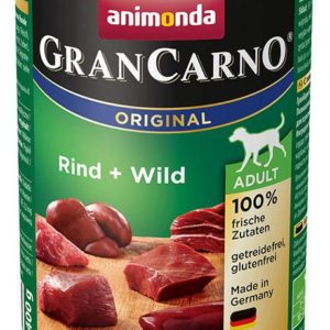 Animonda dog konzerva Gran Carno Plus zvěřina - 6x 400g