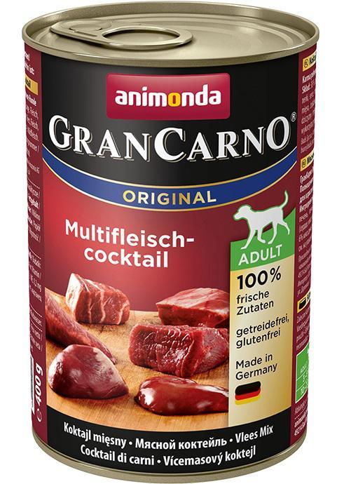 Animonda dog konzerva Gran Carno masový koktejl - 6x 400g