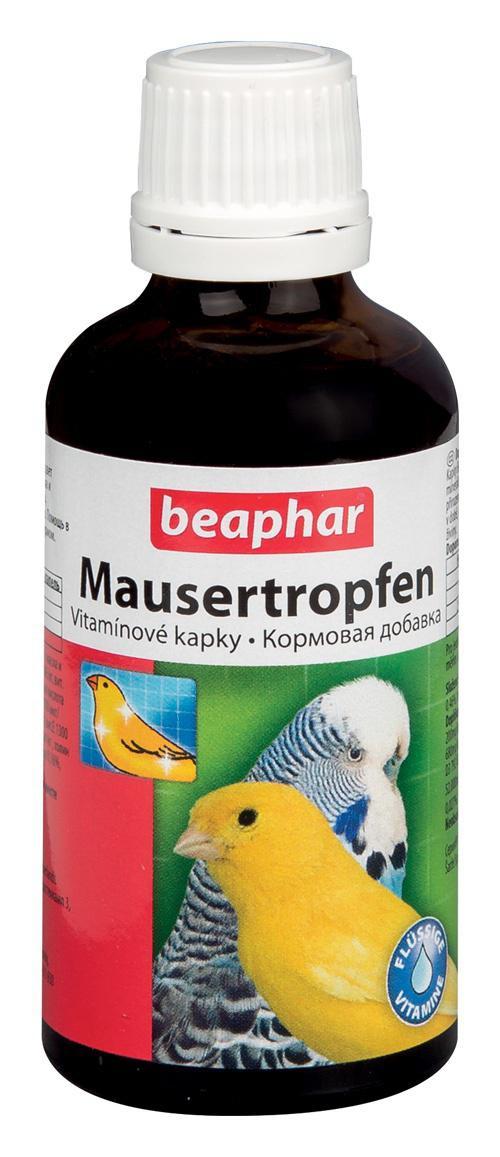 Beaphar  ptáci MAUSERTROPFEN vit. 50ml