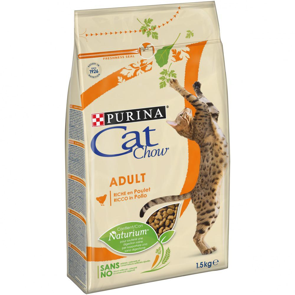 PURINA cat chow ADULT kuře - 1