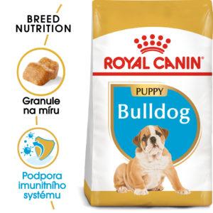 Royal Canin Bulldog Puppy - granule pro štěně buldoka - 12kg