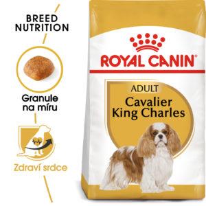 Royal Canin Cavalier King Charles Adult - granule pro dospělého kavalír king charles španěl - 1