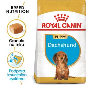 Royal Canin Dachshund Puppy - granule pro štěně jezevčíka - 1