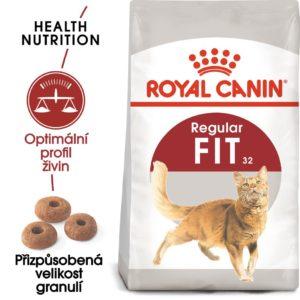 Royal Canin FIT - granule pro správnou kondici koček - 2kg