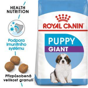 Royal Canin GIANT PUPPY - granule pro obří štěňata - 15kg