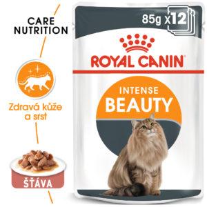 Royal Canin Intense Beauty Gravy - kapsička pro kočky ve šťávě - 85g