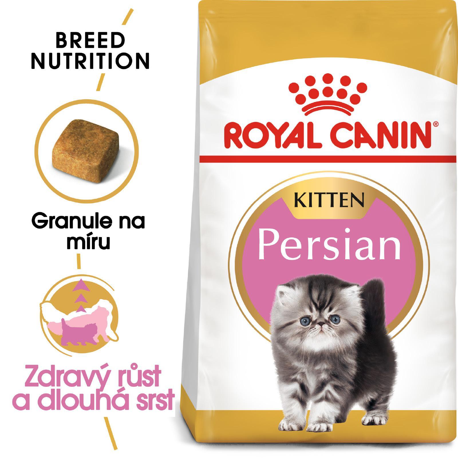 Royal Canin KITTEN PERSKÁ - granule pro perská koťata - 2kg