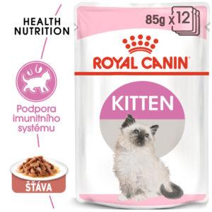 Royal Canin Kitten Instinctive Gravy kapsička pro koťata ve šťávě - 85g