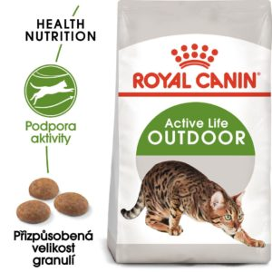 Royal Canin OUTDOOR - granule pro kočky s častým pohybem venku - 400g
