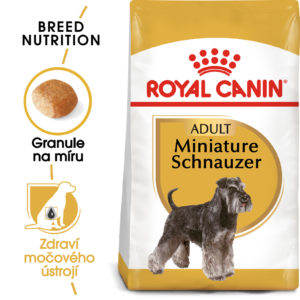 Royal Canin Schnauzer Adult - granule pro dospělého knírače - 500g