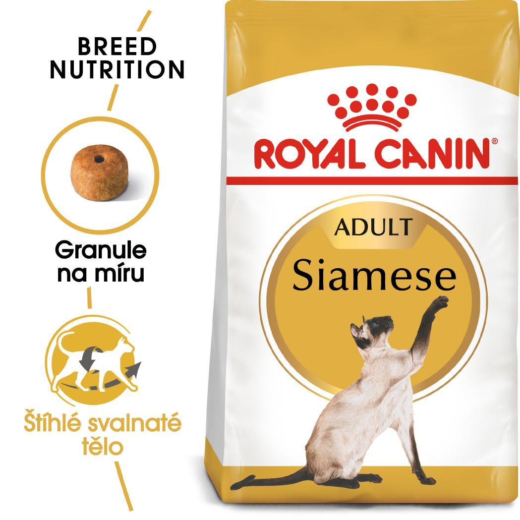 Royal Canin Siamese Adult granule pro siamské kočky - 10kg