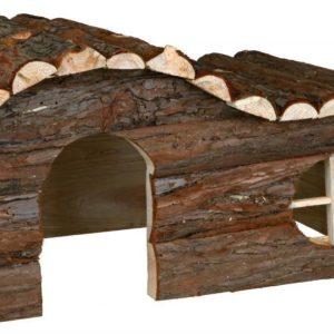 Trixie dřevěný DŮM HANNA pro králíka - 43x22x28cm