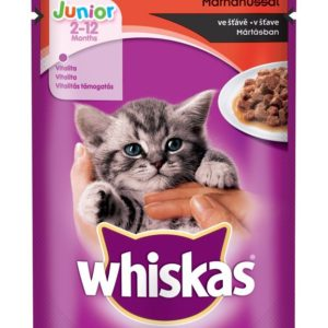Whiskas  kapsa   JUNIOR  - 4x100g - masový