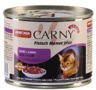 ANIMONDA cat konzerva CARNY hovězí/jehně - 400g
