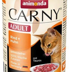 ANIMONDA cat konzerva CARNY hovězí/kuře - 400g
