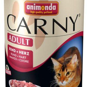 ANIMONDA cat konzerva  CARNY   hovězí/srdce                           - 400g