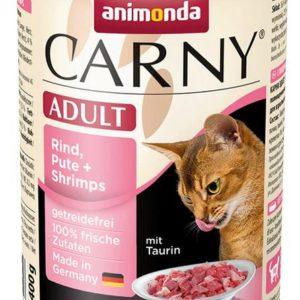 ANIMONDA cat konzerva CARNY krůta/krevety - 400g