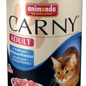 ANIMONDA cat konzerva  CARNY treska/petržel  - 400g