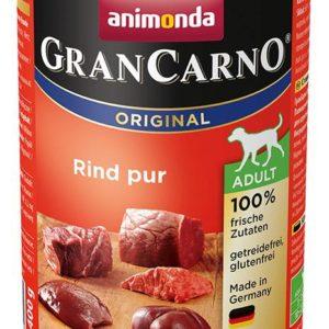 ANIMONDA dog konzerva Gran Carno  čisté hovězí - 6x 400g