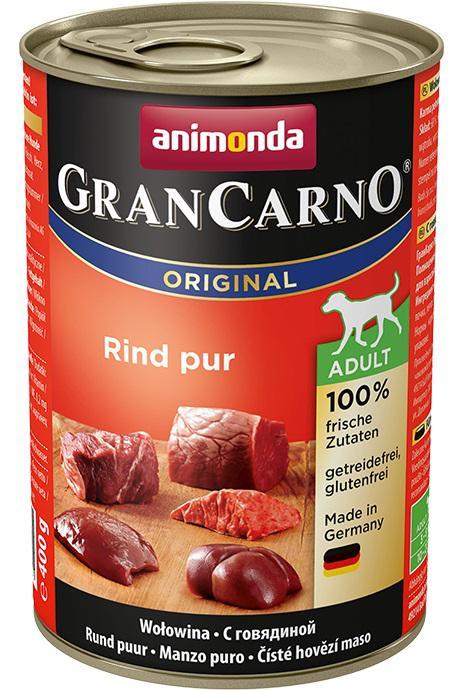 ANIMONDA dog konzerva Gran Carno  čisté hovězí - 6x 800g