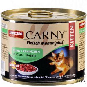 Animonda cat konzerva Carny Kitten kuře/králík   - 200g