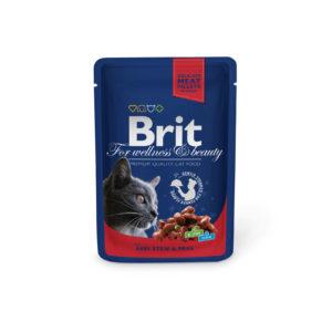 BRIT cat   kapsa   ADULT 100g           - CHICKEN/turkey