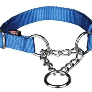 Obojek Premium polostahovací Modrý - L-XL: 2