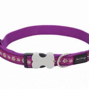 Obojek RD Daisy Chain Purple - 2/33-50cm polost.