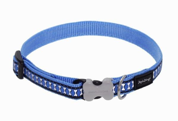 Obojek RD Reflective Medium Blue - 2