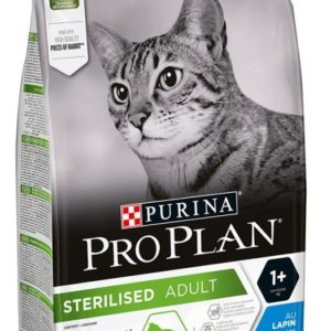 PRO PLAN cat  STERILISED rabbit - 10kg