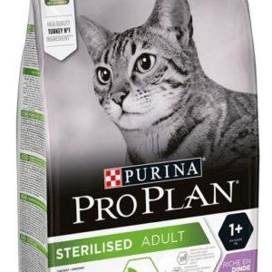 PRO PLAN cat  STERILISED turkey - 10kg