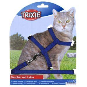 Postroj (trixie) CAT s vodítkem 22-42cm/1cm/1