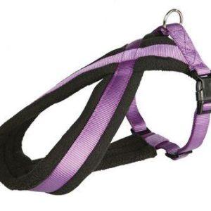 Postroj (trixie) PREMIUM podšitý fialový - 2