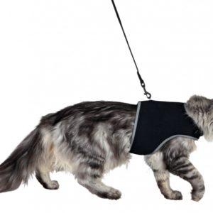 Postroj (trixie) XCat vestička pro kočky 24-42cm/1