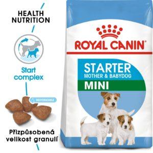 Royal Canin Mini Starter - granule pro březí nebo kojící feny a štěňata - 8