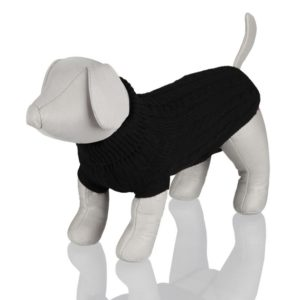 TRIXIE Černý svetr King of Dogs - 45cm (obvod 48cm)