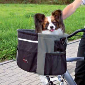 Trixie Přepravní BOX pro zvířata k upevnění na řidítka 38x27x28cm