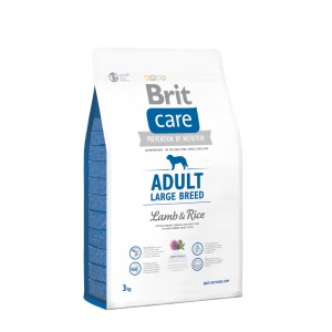 Brit Care dog Adult Large Breed Lamb & Rice - 1kg