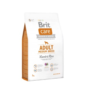 Brit Care dog Adult Medium Breed Lamb & Rice - 2 x 12kg