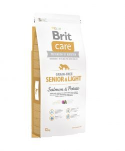 Brit Care dog Grain Free Senior Salmon & Potato - 1kg