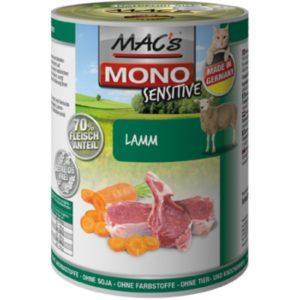 MACs  cat  konz. MONO sensitive LAMM/karotte - 400g