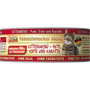 MACs  cat  konz. feinschmecker KITTEN ENTE/karotte - 100g