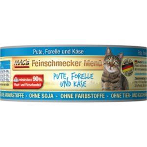 MACs  cat  konz. feinschmecker PUTE/FORELLE - 100g