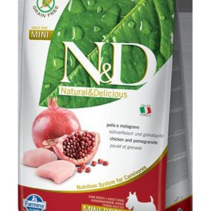 N&D dog GF ADULT MINI CHICKEN / POMEGRANATE - 7kg