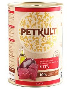 PETKULT   dog konz. ADULT 400g - Krocan  (5+1ks)