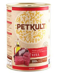 PETKULT   dog konz. ADULT 400g - Krocan  (5+1ks)