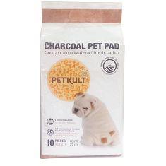PETKULT  podložka  CHARCOAL pet pad - 60x90cm / 10ks