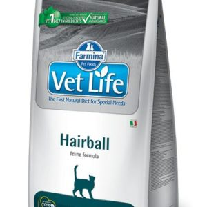 VET LIFE  cat  HAIRBALL natural - 10kg